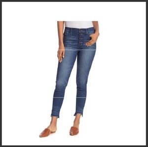 Madewell high rise skinny jeans size 32